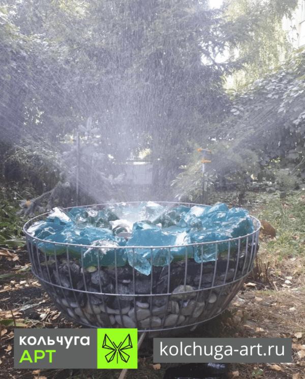 Вазоны габионы шары от производителя Кольчуга АРТ