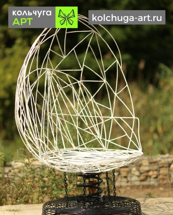 Стул для сада из металла в стиле Энвайронмент от производителя Кольчуга АРТ.