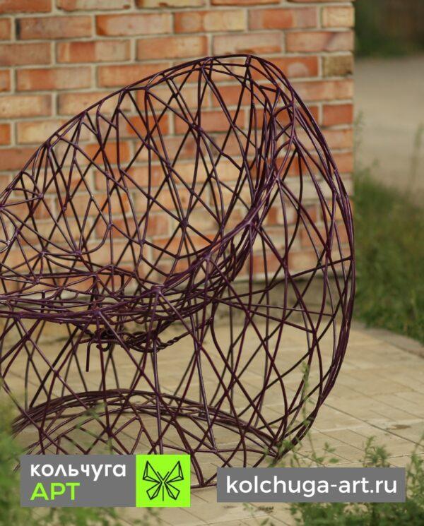 МАФ кресло из металла для сада от производителя Кольчуга АРТ в России.