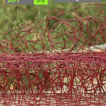 МАФ диван из металла красный от Кольчуги АРТ